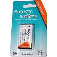 Bateria 9v Recarregável Sony De 450mah Kit C/ 04 Peças