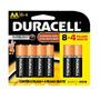 Duracell Duralock Pilha Alcalina - Aa Leve 12 Pague 8