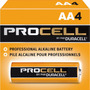 Pilha Alcalina Duracell Procell Aa / 04 Pilhas Longa Duração
