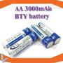 04 Pilha Aa Recarregável 3000mah 1,2v Nimh Bateria
