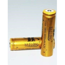 8pç Bateria Recarregavel 18650 /3.7v/7800mah/lanterna Tatica