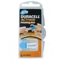 Pilhas Para Aparelhos Auditivos Duracell P675