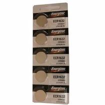 Cartela C/ 5 Baterias Energizer Ecr 1632 3v Lithium Cr1632
