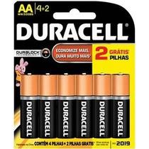 Pilhas (aa)duracell Leve 6 Pague 4 Duralock Confira