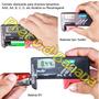 Testador De Pilhas E Baterias Normal Ou Recarregável Digital