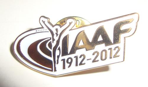 Pin Oficial Da Federação Internacional De Atletismo - Broche