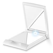 Estojo Com 2 Espelhos Para Bolso Iluminado Beurer Bs05