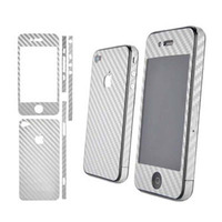 Kit Adesivo Fibra De Carbono Iphone 4g 4s Frete Gratis+brind
