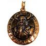 Odin Amuleto Banhado A Ouro 24 Quilates
