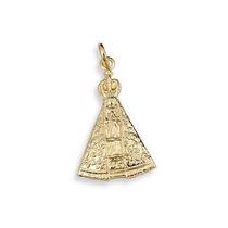 Pingente Rommanel 541268 3,2cm Folh Ouro Artigo Religioso