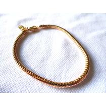 Promoção-uu18-pulseira Folheada A Ouro 18k.