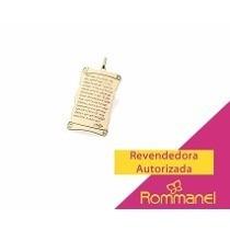Pingente Rommanel ¨oração Pai Nosso¨ Ref 541528
