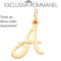 Rommanel Pingente Formato Letra (liso), 2,6 Cm, 540675