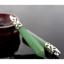 Pingente | Pedras Preciosas (quartzo Verde) **frete Grátis**