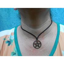 Pingente Pentagrama Lei Wicca , Esoterismo, Magia E Proteção