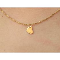 Lindo Berloque Em Ouro Amarelo 18k 750 Coração!!!