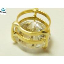 Nicaya Pingente Ponto De Luz Ouro 18k-750 Zircônia Brilhante