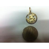 Pingente Medalha São Jorge Ouro 18k