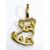 Cachorro Dog Ouro 18k - Ou00179 - Corrente Vendida A Parte