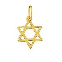 Estrela De Davi Em Ouro 18k 750 Com Certificado