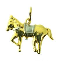 Decolar Joias Pingente Cavalo Ouro 18k