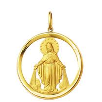 Medalha Nossa Senhora Das Graças Ouro 18k 5,3gr Grande