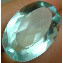 14.5 Cts Pedra Em Berilo De Água Marinha Verde Oval Vvs