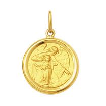 Leão Jóias Medalha Anjo Da Guarda 2gr Ouro 18k