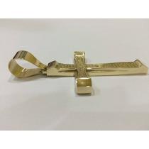 Pingente Crucifixo Em Ouro 18 Kl 750