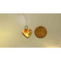 Pingente Coração Ouro Maciço 18k Ref 06