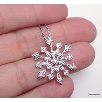 Exclusivo Pingente Diamantes Em Ouro 18k Maciço