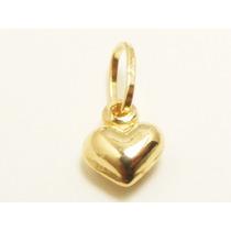 Monreale Pingente Coração Pequeno De Ouro 18k