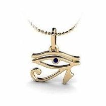 Nelcy Joias Ecia Pingente Olho De Horus Em Ouro