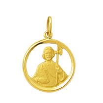Medalha São Judas Tadeu 1,8cm Ouro 18k