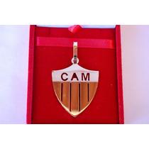 Pingente Escudo Atletico Mineiro - Cam - Ouro 18k