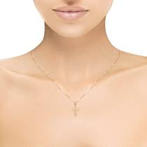 Pingente Crucifixo Em Ouro 18k (750)