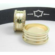 Par De Alianças Em Ouro 18k. Diamantes Casamento Diferente