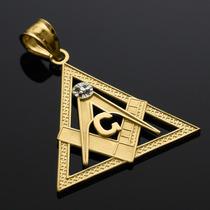 Pingente Maçonaria Ouro 18k Varios Modelos A Escolher 2.5 Cm