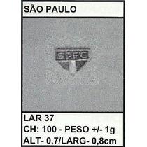 Pingente/medalha Ouro/prata 1g São Paulo Christianjoias.net