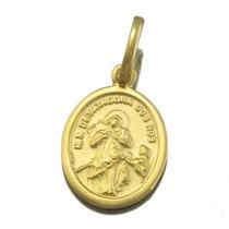 Pingente Nossa Senhora Desatadora Dos Nos Em Ouro 18k J15982