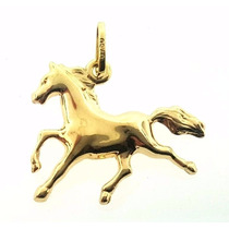 Pingente Cavalo Ouro 18k - 0.90 Gramas