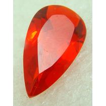 7.5 Cts Pedra Em Quartzo De Rubi Vermelho Gota Vvs