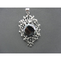 Jóia - Pingente Diamante Negro Moissonite 144.5cts Prata 925