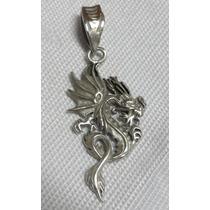 Pingente De Prata Dragão - Promoção