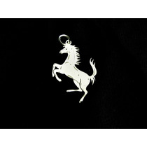 Pingente Cavalo Rampante Em Prata 925