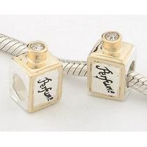 Charm Conta Pingente Berloque Europeu Em Prata 925 Perfume