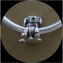 Charm Berloque Europeu Prata 925 Pulseira Pandora Vivara