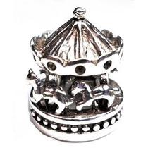 Gzj-pingente Berloque Carrossel Prata Lei 925 Stile Pand