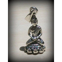 Pingente Buda Buddha The First - Prata 925 - Try - 2,7 Gr