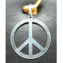 Galero5- Pingente De Prata 950 Simbolo Da Paz
